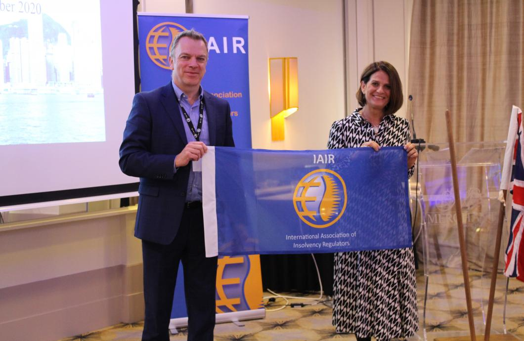 IAIR flag handed over
